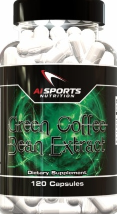 product photo for AI Sports Nutrition Green Coffee Bean Extract (120 Capsules)