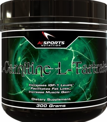 product photo for AI Sports Nutrition L-Carnitine L-Tartrate (300 Grams)