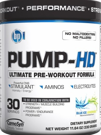 product photo for BPI Sports PUMP-HD 30 servings