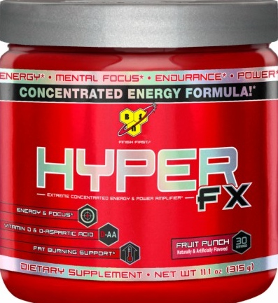 product photo for BSN Hyper FX 30 Servings
