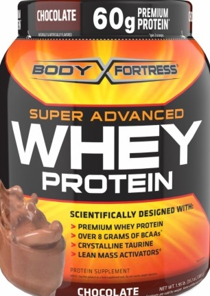 product photo for Body Fortress Super Advanced Whey Protein 1.95lbs