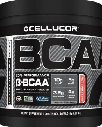 product photo for Cellucor COR-Performance Beta-BCAA 4 Servings