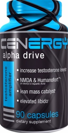 product photo for Cenergy Nutrition Alpha Drive 90 Capsules