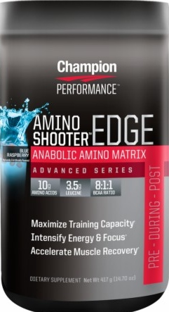 product photo for Champion Performance Amino Shooter Edge 7 Servings