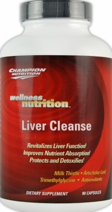 product photo for Champion Performance Liver Cleanse 90 Capsules