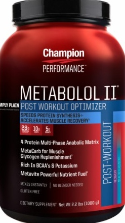 product photo for Champion Performance Metabolol II 2.2 lbs