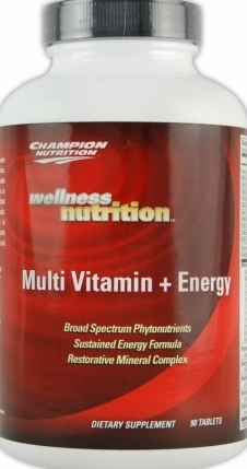 product photo for Champion Performance Multi Vitamin + Energy 90 Tablets
