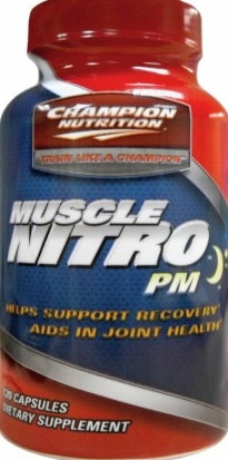 product photo for Champion Performance Muscle Nitro PM 120 Capsules