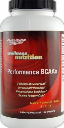 product photo for Champion Performance Performance BCAA's 200 Capsules