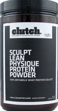 product photo for Clutch Sculpt Lean Physique Protein Powder 1 lb