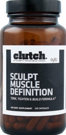 product photo for Clutch Sculpt Muscle Definition 120 Capsules