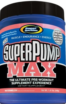 product photo for Gaspari Nutrition SuperPump MAX 160 Grams