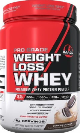 product photo for Image Sports Pro Grade Weight Loss Whey 23 Servings