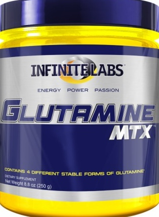 product photo for Infinite Labs Glutamine MTX 250 Grams