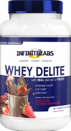product photo for Infinite Labs Whey Delite 11.1 oz