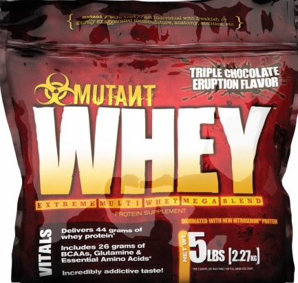 product photo for MUTANT Whey 5lbs