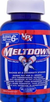 product photo for VPX Meltdown (120 Bioliquid Capsules)
