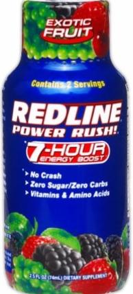 product photo for VPX Redline Power Rush (2.5 Fl. Oz. Bottle)