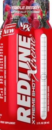 product photo for VPX Redline Xtreme Shot (6/3 Fl. Oz. Bottles)