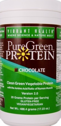 product photo for Vibrant Health PureGreen Protein 13 Servings