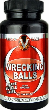 Vigor Labs Wrecking Balls 60 Capsules