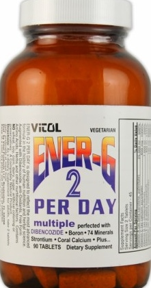 product photo for Vitol Ener-G 2 Per Day (90 Tablets)