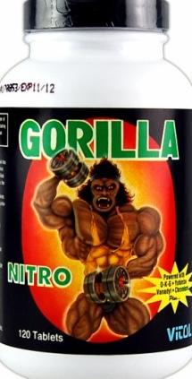 product photo for Vitol Gorilla Nitro (120 Tablets)
