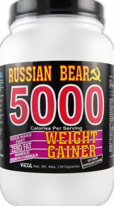 product photo for Vitol Russian Bear 5000 Weight Gainer (4 Lbs)
