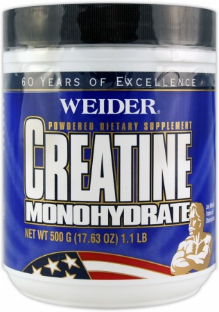 product photo for Weider Creatine Monohydrate (500 Grams)