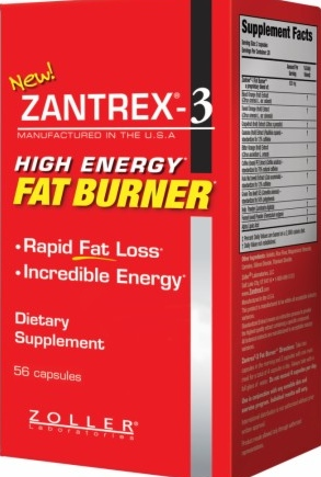 product photo for Zantrex-3 Fat Burner (56 capsules)