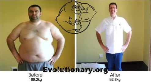 evolutionary diet before after