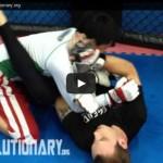 MMA armbar