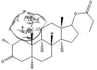 masteron chemical structure