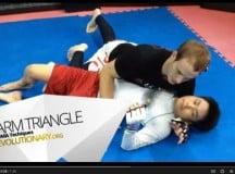 MMA Triangle Choke Tutorial