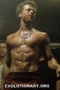 brad pitt fight club abs