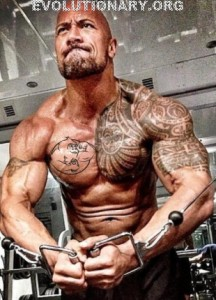 dwayne johnson cable crossover
