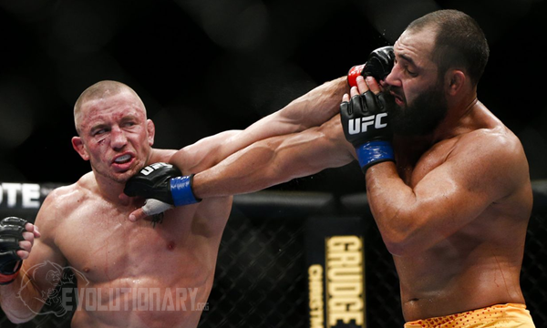 UFC 167 - Georges St. Pierre vs Johny Hendricks - Play by