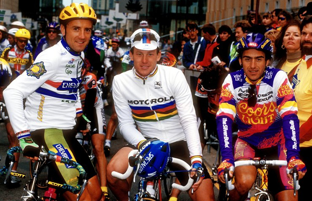 Roberto Gaggioli and Lance Armstrong