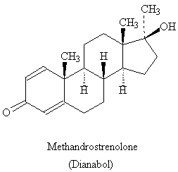 Dianabol (Methandrostrenolone)-chemical-structure