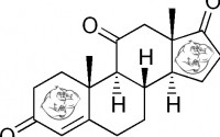 Fig 1. Adrenosterone (11-Oxo) chemical structure