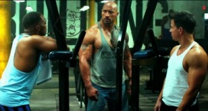 dwayne johnson mark wahlberg anthony mackie training