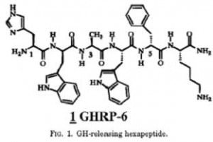 ghrp-6 chemical structure