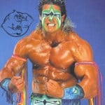 the ultimate warrior posing