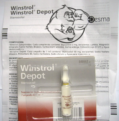 what is winstrol depot stanozolol