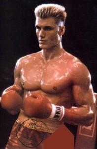 Dolph Lundgren boxer