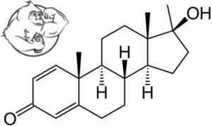 Methandrostenolone-dianabol chemical structure