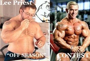 lee priest comparison offseason contest