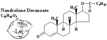 nandrolone decanoate chemical formula