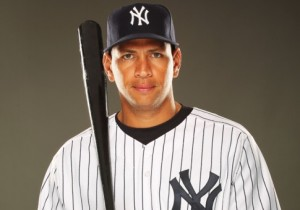 New York Yankees third baseman Alex Rodriguez