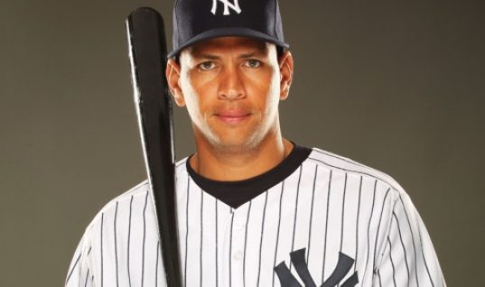 New York Yankees third baseman Alex Rodriguez